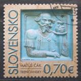 Poštovní známka Slovensko 2010 Matúš Čák Mi# 633