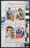 Poštovní známky Svatý Tomáš 2013 Magnus Carlsen, šachy Mi# 5351-54 Kat 10€