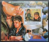 Poštovní známka Mosambik 2011 Maia Chiburdanidze, šachy Mi# Block 444 Kat 10€