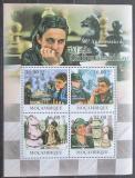 Poštovní známky Mosambik 2011 Maia Chiburdanidze, šachy Mi# 4524-27 Kat 11€