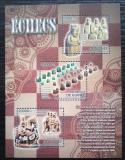 Poštovní známky Guinea 2012 Historické šachy Mi# 9280-82 Kat 16€