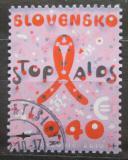 Poštovní známka Slovensko 2010 Boj proti AIDS Mi# 650