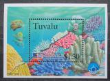 Poštovní známka Tuvalu 1998 Fauna korálového útesu Mi# Block 65