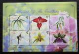 Poštovní známky Nevis 2010 Orchideje Mi# 2464-69 Kat 10€