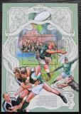 Poštovní známka Mosambik 2013 Rugby Mi# Block 722 Kat 10€