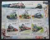 Poštovní známky Mosambik 2011 Parní lokomotivy Mi# 5295-5300 Kat 23€