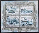 Poštovní známky Mosambik 2013 Středověké plachetnice Mi# 6304-07 Kat 13€