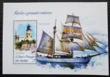 Poštovní známka Svatý Tomáš 2013 Plachetnice a majáky Mi# Block 897 Kat 10€