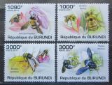 Poštovní známky Burundi 2011 Včely Mi# 1998-2001 Kat 9.50€