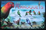 Poštovní známky Burundi 2011 Papoušci neperf. Mi# Block 151 B