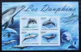 Poštovní známky Burundi 2011 Delfíni neperf. Mi# Block 161 B