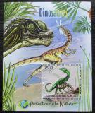 Poštovní známka Burundi 2012 Dinosauři Mi# Block 235 Kat 9€