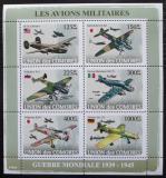 Poštovní známky Komory 2008 Vojenská letadla Mi# 1931-36 Kat 11€
