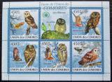 Poštovní známky Komory 2009 Sovy Mi# 2412-16 Kat 10€