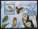 Poštovní známka Komory 2009 Sovy Mi# 2429 Kat 15€