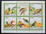 Poštovní známky Komory 2009 Žluva hajní Mi# 2362-66 Kat 9€