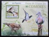 Poštovní známka Komory 2009 Holubi Mi# 2425 Kat 15€