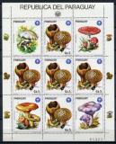 Poštovní známky Paraguay 1985 Houby Mi# 3841 Bogen Kat 45€