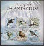 Poštovní známky Mosambik 2011 Fauna Antarktidy Mi# 4591-96 Kat 12€