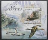 Poštovní známka Mosambik 2011 Fauna Antarktidy Mi# Block 455 Kat 10€