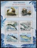 Poštovní známky Mosambik 2012 Ohrožená mořská fauna Mi# 5810-15 Kat 14€