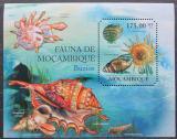Poštovní známka Mosambik 2011 Mušle Mi# Block 494 Kat 10€
