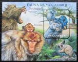 Poštovní známka Mosambik 2011 Opice Mi# Block 522 Kat 10€