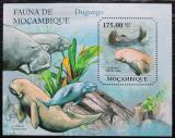 Poštovní známka Mosambik 2011 Dugong indický Mi# Block 516 Kat 10€