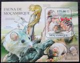 Poštovní známka Mosambik 2011 Malí savci Mi# Block 507 Kat 10€