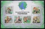 Poštovní známky Mosambik 2011 Jaguár americký Mi# 4409-14 Kat 11€