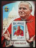 Poštovní známka Mosambik 2013 Papež Jan Pavel II. Mi# Block 824 Kat 10€