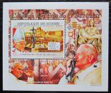 Poštovní známka Guinea 2009 Papež Jan Pavel II. DELUXE Mi# 6679 Block