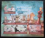 Poštovní známky Mosambik 2012 Svetozar Gligorič, šachy Mi# 6251-56 Kat 14€