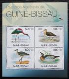 Poštovní známky Guinea-Bissau 2012 Ptáci Mi# 5857-60 Kat 8€