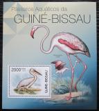 Poštovní známka Guinea-Bissau 2012 Ptáci Mi# Block 1034 Kat 8€