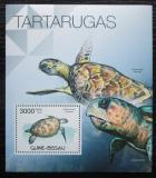 Poštovní známka Guinea-Bissau 2012 Želvy Mi# Block 1041 Kat 12€
