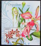 Poštovní známka Guinea-Bissau 2012 Orchideje Mi# Block 1073 Kat 8€