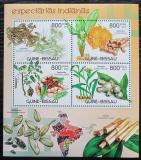 Poštovní známky Guinea-Bissau 2012 Indické koření Mi# 6027-30 Kat 13€