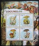 Poštovní známky Guinea-Bissau 2011 Houby Mi# 5651-54 Kat 12€