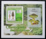 Poštovní známka Guinea 2009 Houby na známkách DELUXE Mi# 7023 Block