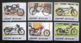 Poštovní známky Guinea-Bissau 2005 Motocykly Mi# 3079-84 Kat 11€