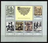 Poštovní známky DDR 1975 Sedlácká válka, 450. výročí Mi# 2013-18 Kat 5.50€