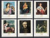Poštovní známky DDR 1976 Umění Mi# 2193-98