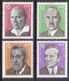Poštovní známky DDR 1976 Osobnosti Mi# 2107-10