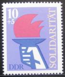 Poštovní známka DDR 1977 Mezinárodní solidarita Mi# 2263
