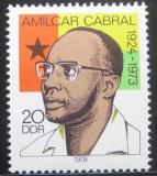 Poštovní známka DDR 1978 Amilcar Cabral Mi# 2293