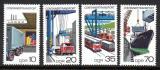 Poštovní známky DDR 1978 Kontejnerová doprava Mi# 2326-29