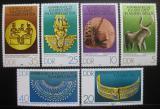 Poštovní známky DDR 1978 Staré africké umění Mi# 2330-35