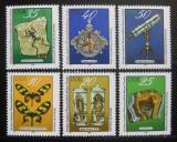 Poštovní známky DDR 1978 Exponáty Vědeckého muzea v Drážďanech Mi# 2370-75