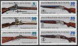 Poštovní známky DDR 1978 Lovecké zbraně Mi# 2376-81